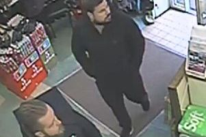 Two men police want to identify