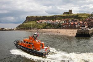 File picture: Whitby's lifeboat