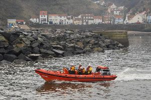 File picture: The Staithes lifeboat.