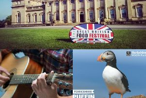 Yorkshire has a wide array of different events taking place throughout the region over the May bank holiday weekend