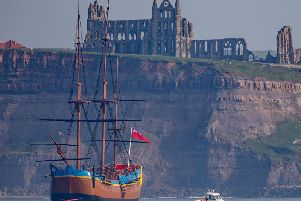 Approaching Whitby. Picture by Charlotte Graham.
