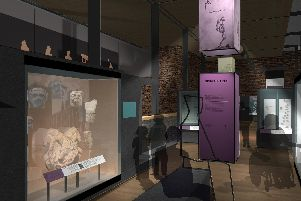 Artist impression of new museum space