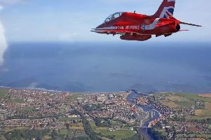 Red Arrows cancel display at Whitby Regatta