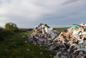 Englands landfill sites will burst their banks in as little as four years