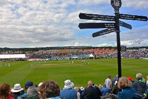 Scarborough's iconic North Marine Road ground will host Surrey and Notts in 2019