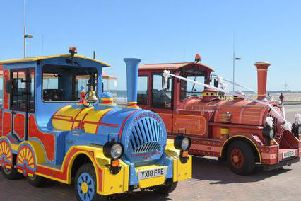 The land trains will be running for free from Bridlington to Sewerby Hall this weekend.