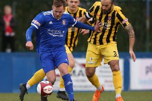 Farsley Celtic take on Scarborough Athletic earlier in the season, but will they go on and win the Evo-Stik Premier Division title this season?