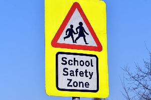 School safety zone - stock