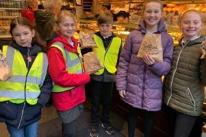 A trip to Botham's on Baxtergate for Airy Hill pupils.