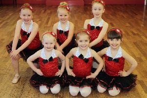Members of Rowlies Academy of Dance