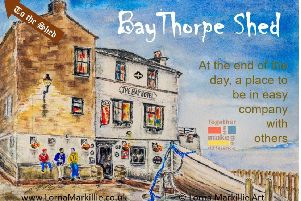 Shed project expands into Robin Hood's Bay