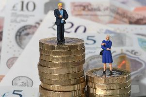 Women in North Yorkshire effectively went without pay for nearly four months last year due to the gender pay gap, figures show.