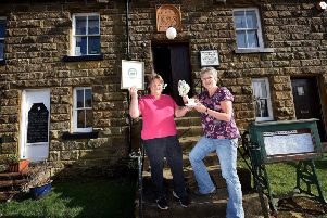 Owners Wendy Metcalfe and Gillian Green celebrate their latest award.