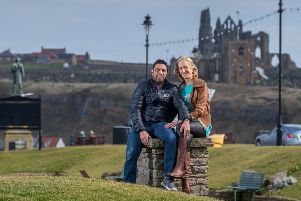 Zed and Emma Khan, owners of Riviera Guesthouse, Whitby.''Picture: James Hardisty.