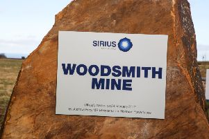 The official naming ceremony of the Sirius Minerals Woodsmith Mine, in Whitby. w171501p Picture: Ceri Oakes