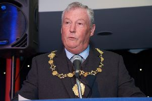 Tom Fox pictured in 2016, when he was mayor.
