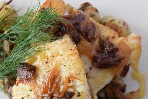 Here's how to make a fish dish Magpie Cafe-style - Haddock with garlic and shallots