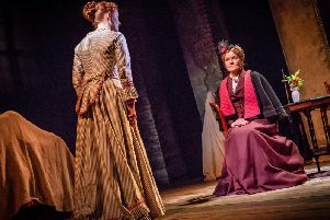 Janet Dibley plays the Governess