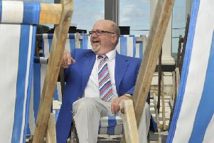 The organist will take up residency at Scarborough Spa next month
