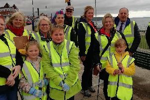 Staff from Sainsbury's will work with the Whitby Beach Clean team.