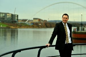 Conservative metro mayor Ben Houchen, representing the Tees Valley