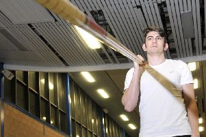 Harry Coppell was excited at the prospect of competing in his first World Championships