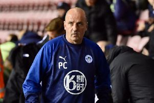 Manager Paul Cook tonight