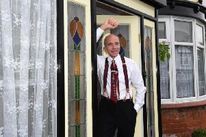 Take a look around this couple's retro 1940s style Wigan home