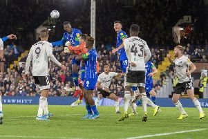 Chey Dunkley in action against Fulham last month