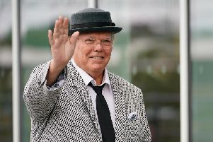 Comedian Roy Chubby Brown (Photo by Christopher Furlong/Getty Images)