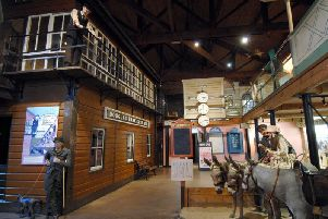 Inside The Way We Were Museum in 2007