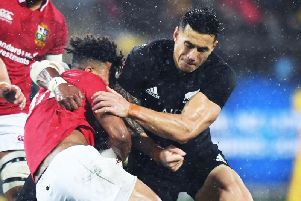 Sonny Bill Williams is switching codes again
