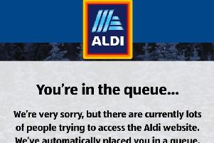Kevin the Carrot hunters forced to queue on Aldi's website this morning