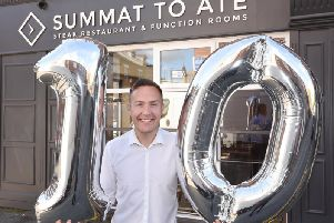 Summat To Ate, founded by Kai Binder, is celebrating 10 years in business
