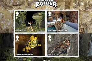New gaming stamps from the Royal Mail