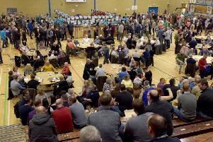 Ale enthusiasts at last years Wigan Beer Festival