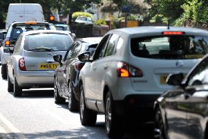 Congestion is causing delays for drivers