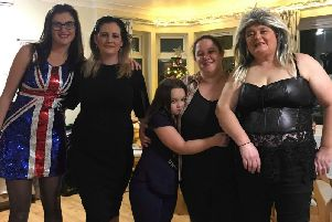 Westwood Lodge care home held a fund-raising Stars in their Eyes night to raise money for the family of Josh Mawdsley