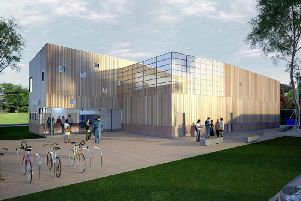 An impression of the new centre