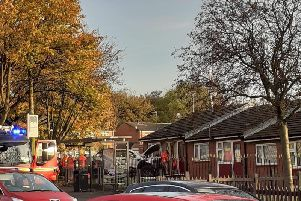 One of the incidents on Tyldesley Road