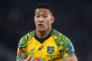 Israel Folau is back in rugby league