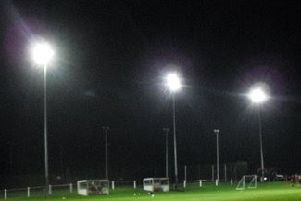 There's nothing like a midweek game under the lights