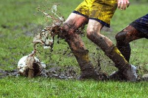 The days of muddy pitches are over until next season