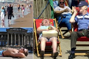Forecasters at the Met Office predict that temperatures on Saturdaycould hit highs of 20C