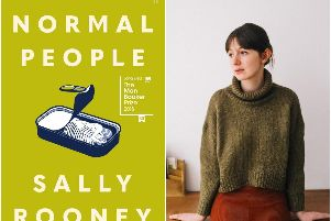 Irish author Sally Rooney, whose book, Normal People, has won the Costa Novel Award category at Costa Book Awards 201