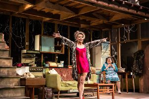 The rise and fall of Little Voice; Sally George as Mari