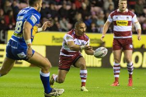 Wigan head into the game on the back of a victory against Leeds
