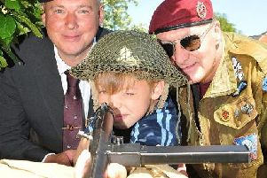 Last years Armed Forces Day celebrations in Wigan