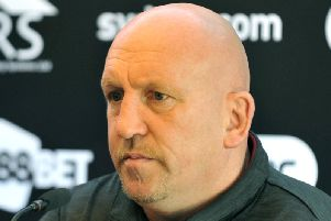 Shaun Edwards at the DW Stadium in August