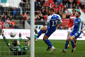 Wigan Athletic left it late at Bristol City